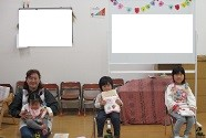 2月、3月のお誕生会をしました